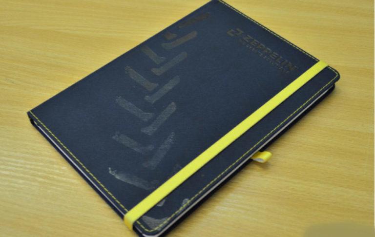 Діловий щоденник з резинкою
