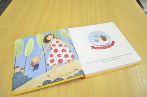 детская подносцветная книга
