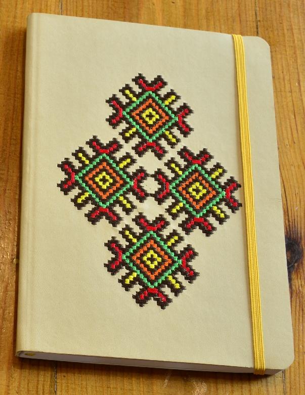 вишивка на щоденнику