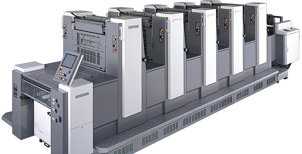 машина для офсетной печати книг